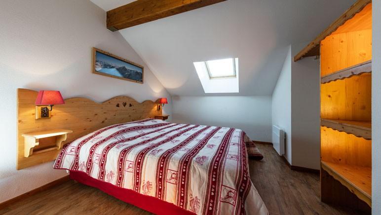 Vente privée Résidence Les Balcons du Viso 3* – Chambre avec lit double