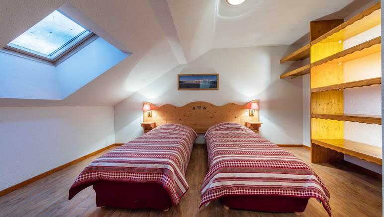 Vente privée Résidence Les Balcons du Viso 3* – Chambre avec lits simples