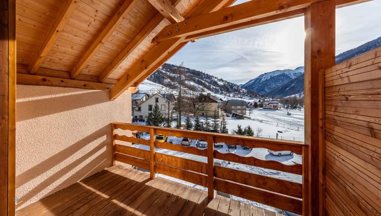 Vente privée Résidence Les Balcons du Viso 3* – Balcon ou terrasse dans tous les logements