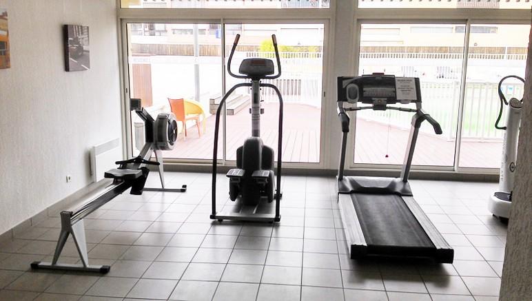 Vente privée Résidence Le Saint Clair 3* – Salle de fitness en accès libre