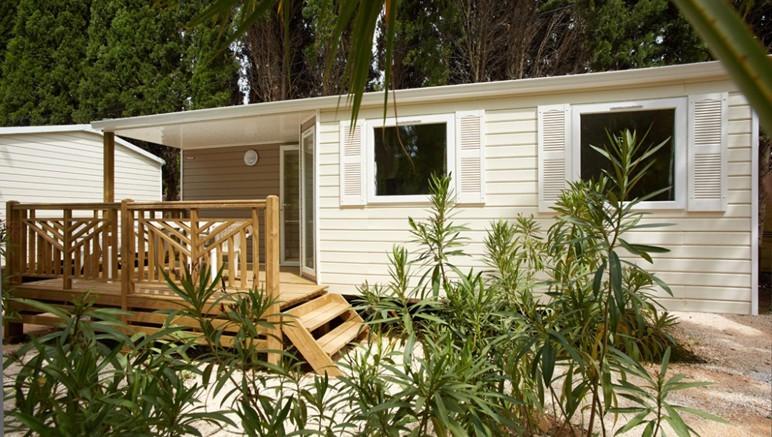 Vente privée Camping 4* Les Pirons – Les mobil-homes du camping