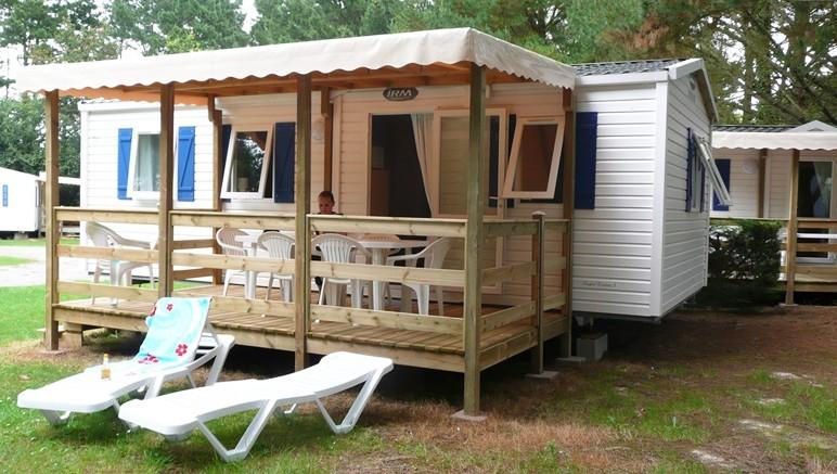 Vente privée Camping 4* Le Domaine d'Inly – Les mobil-homes du camping