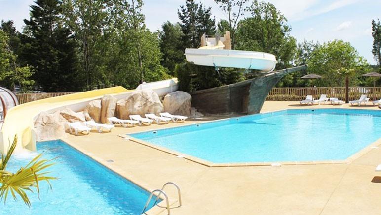 Vente privée Camping 4* Le Domaine d'Inly – Accès gratuit à l'espace aquatique extérieur...
