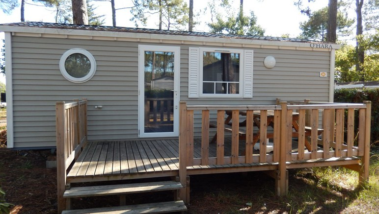 Vente privée Camping 4* Les Viviers – Mobil-home spacieux avec terrasse