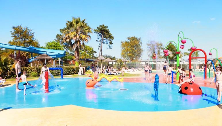 Vente privée Camping 4* Les Viviers – Les enfants pourront s'amuser dans l'espace aqualudique