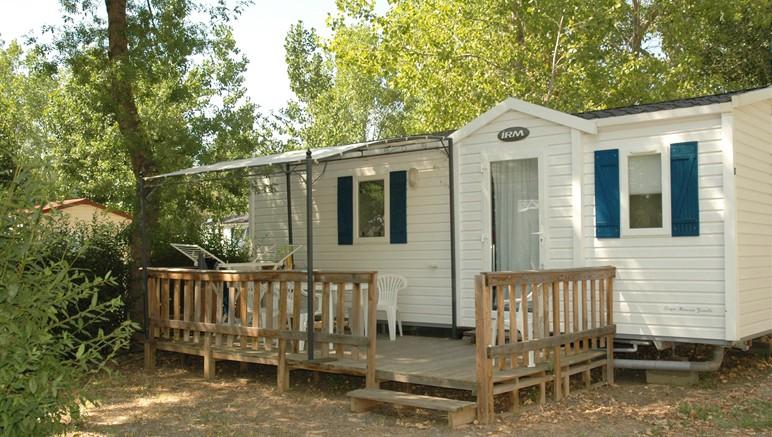 Vente privée Camping 4* Les Salisses – Les mobil-homes du camping
