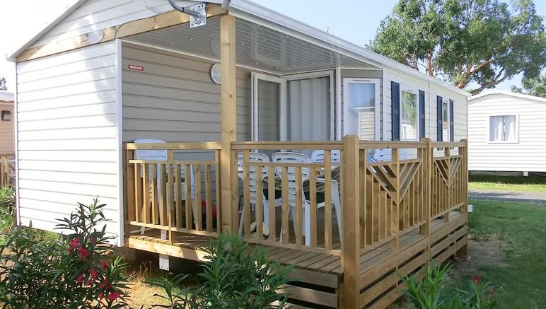 Vente privée Camping 4* Le Soleil de la Méditerranée – Les mobil-homes du camping