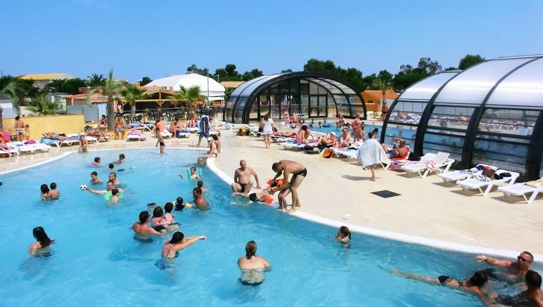 Vente privée Camping 4* Le Soleil de la Méditerranée – Accès gratuit à l'espace aquatique avec piscine extérieure