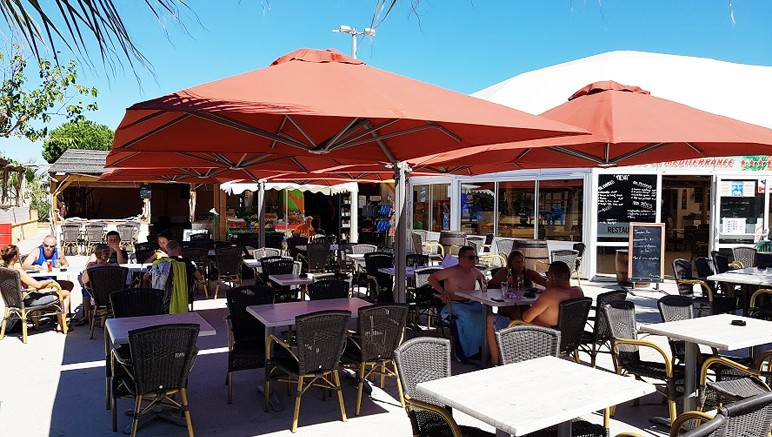 Vente privée Camping 4* Le Soleil de la Méditerranée – Le restaurant du camping, en supplément
