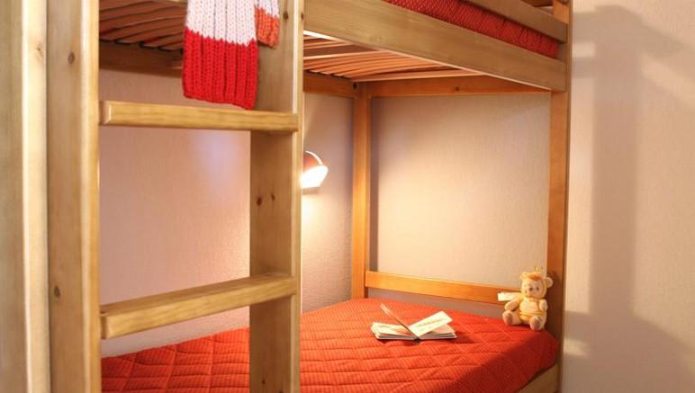 Vente privée Résidence le Pra Palier 3* – Chambre avec lits superposés