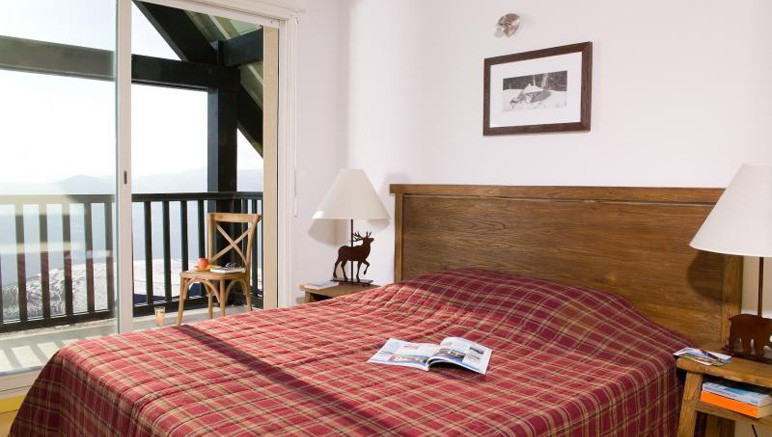 Vente privée Résidence Les Adrets de Peyragudes 3* – Chambre avec lit double