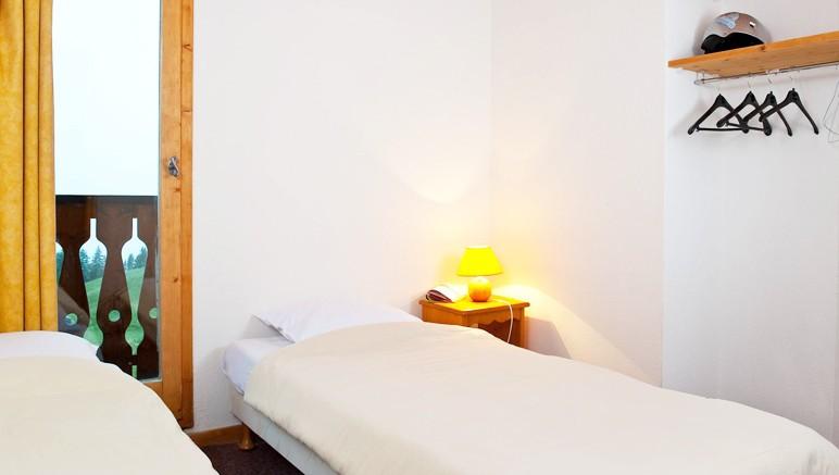 Vente privée Résidence Les Chalets et Lodges des Alpages – Chambre avec lits simples