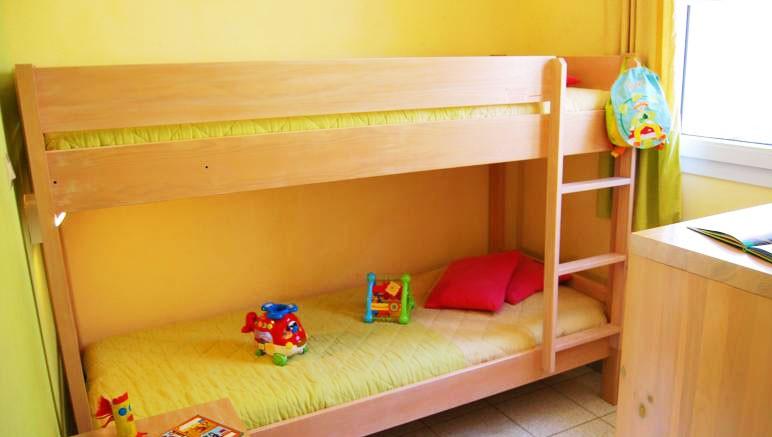 Vente privée Résidence le Village des Aloes 3* – Chambre avec lits superposés