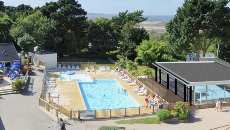 Camping 4 port de la cha ne vente priv e jusqu au 30 03 2017 for Camping cote de granit rose piscine couverte