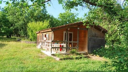 Vente privée : Chalet nature près de Rocamadour