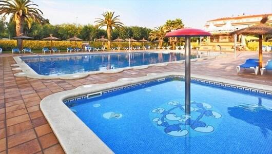 Vente privée : Espagne : camping, piscines & plage