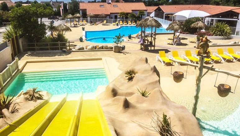 Camping 4 les ecureuils vente priv e jusqu au 02 07 2017 for Toboggan piscine privee