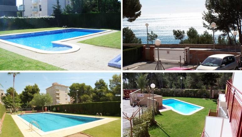 Pr s des plages avec piscine collective vente priv e for Piscine collective